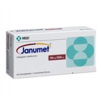 JANUMET 50/500MG TABLET